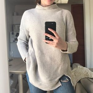 French Connection Mockneck Sweater - 100% cotton